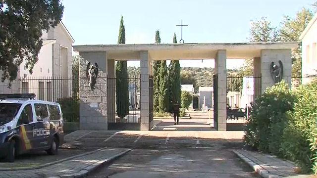 Restringen el acceso al cementerio de Mingorrubio donde se enterrará a Franco