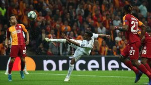 Rodrygo fue titular en el último partido de Champions