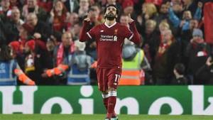 Salah triunfa con el Liverpool
