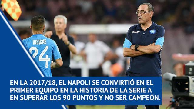 Sarri, nuevo entrenador del Chelsea