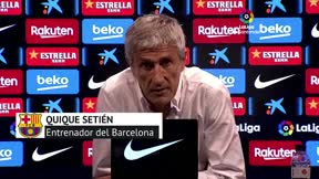 Setién: Espero seguir siendo el entrenador, pero no lo sé
