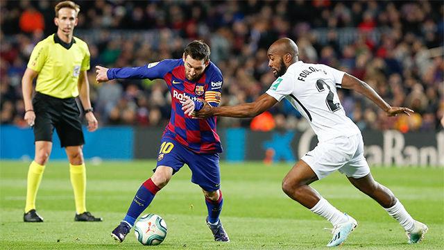 Setién ya sabe cómo lidera Messi al Barça