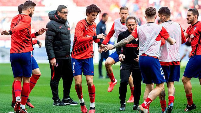 Simeone y los jugadores se verán afectados por los recortes anunciados en el Atlético de Madrid