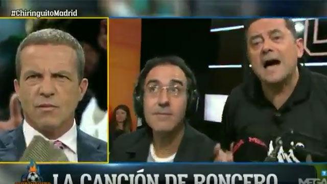 Tomás Roncero se marca un nuevo hit en El Chiringuito