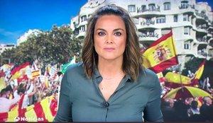 El tweet de Mónica Carrillo sobre el debate electoral que se ha hecho viral
