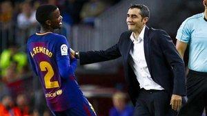 Valverde confía plenamente en Nelson Semedo