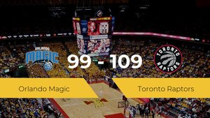 Victoria de Toronto Raptors en el Visa Athletic Center ante Orlando Magic por 99-109