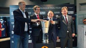 Vitoria acogerá la Final Four en mayo de 2019
