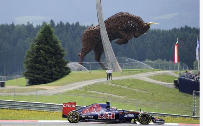 El circuito Red Bull Ring acoge el GP de Austria