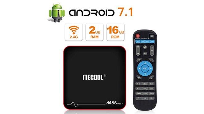 MECOOL M8S Pro W TV Box