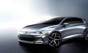 El Volkswagen Golf VIII enseña la patita