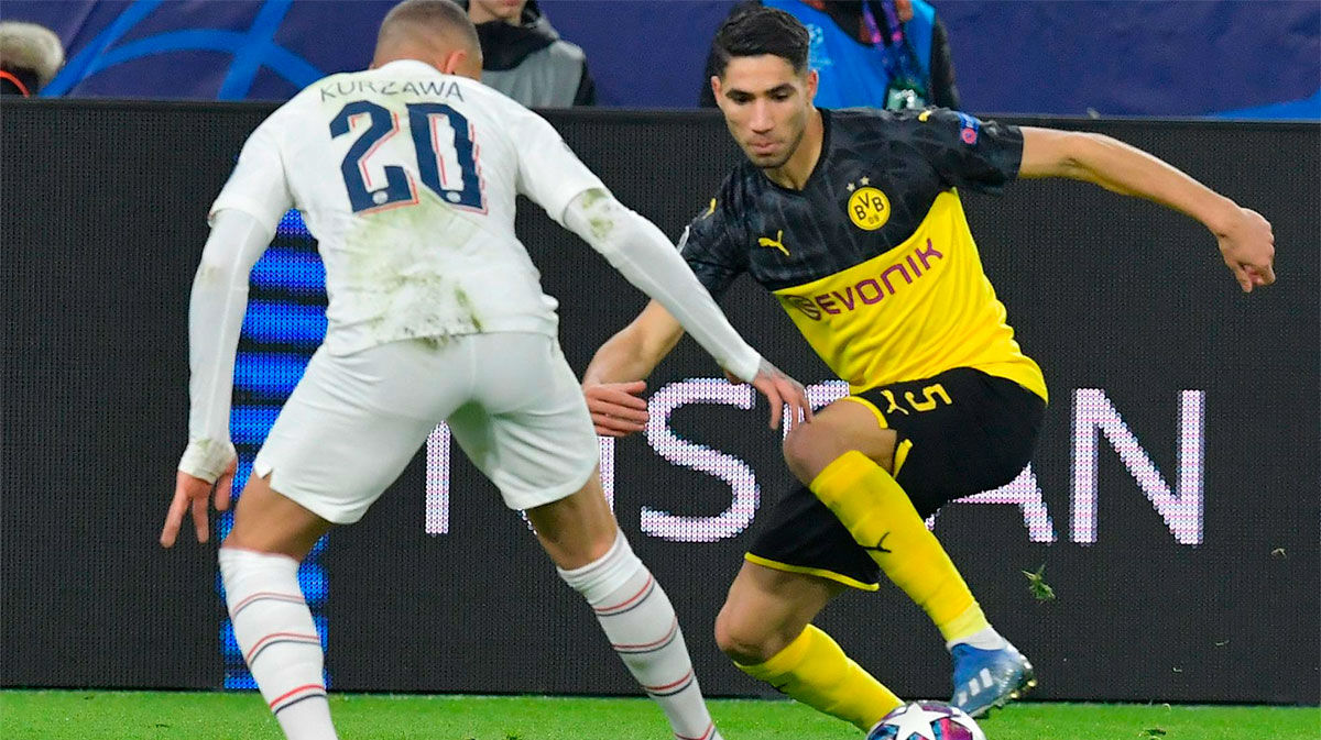 """""""Achraf quiere jugar en el Madrid, pero no hay prisa"""""""
