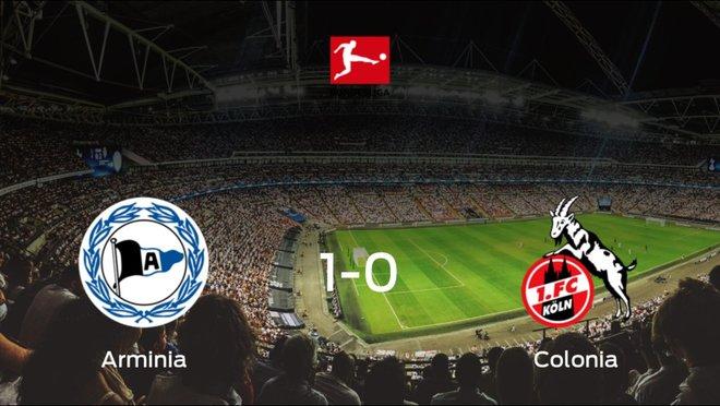Tres puntos para el equipo local: Arminia Bielefeld 1-0 Colonia
