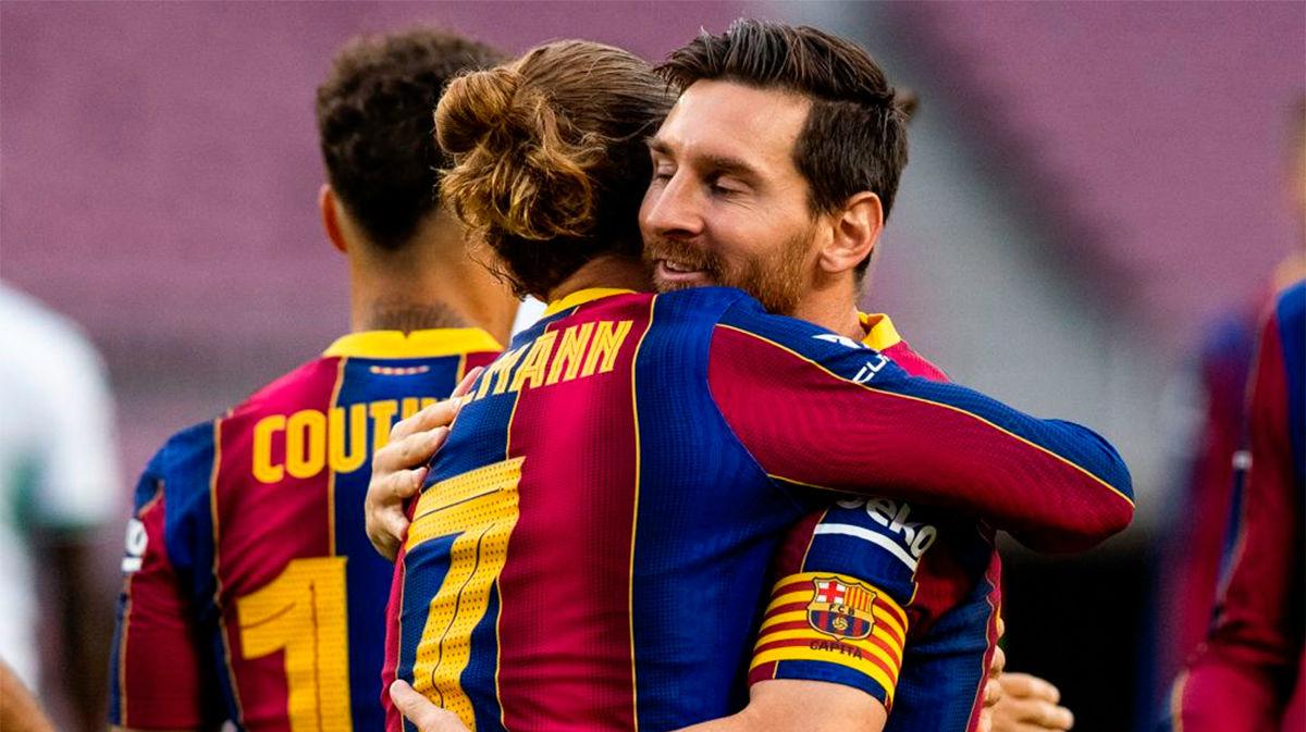 El 1x1 del Barça ante el Elche en el Gamper al descanso