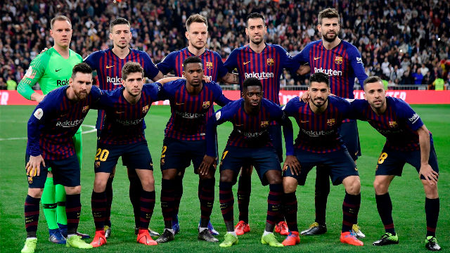El 1x1 del Barça en la primera parte del Clásico
