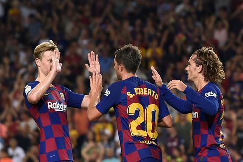 Alba hace el cuarto de un Barça desatado (ES)
