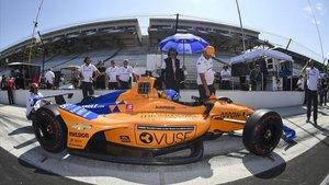 Alonso, a la repesca en Indy