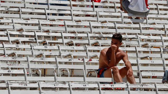 Argentina se indigna con el desenlace del Superclásico