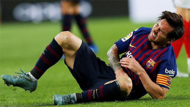 La baja de Messi, un arma de doble filo