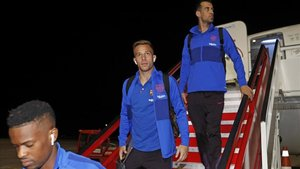 El Barça se encuentra en Vitoria para preaparar el duelo ante el Eibar