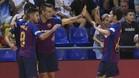 El Barça Lassa celebró una victoria muy trabajada