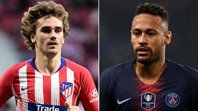 El Barça va a por Neymar y Griezmann