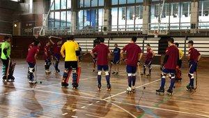 El Barça ha preparado el partido en Llars Mundet