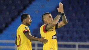 Barcelona de Ecuador sumó sus tres primeros puntos en la Copa Libertadores
