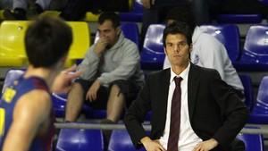 Borja Comenge dirigió el filial del FC Barcelona durante 3 años