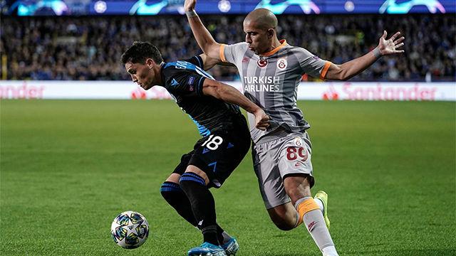 Brujas y Galatasaray empatan a nada en su estreno en Champions