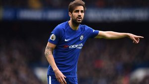 Cesc Fàbregas ha perdido el protagonismo en el Chelsea