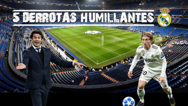Cinco derrotas humillantes del Real Madrid
