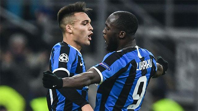 La combinación Lautaro-Lukaku dio esperanzas al Inter