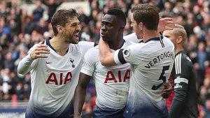 Davinson Sánchez es una de las figuras del Tottenham
