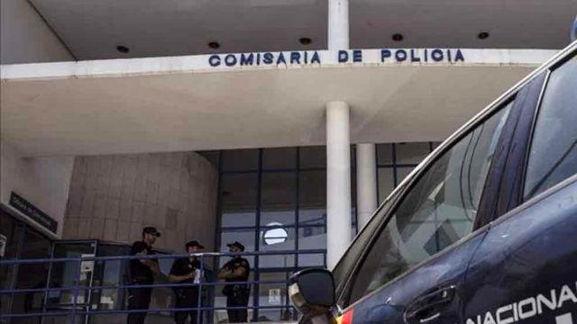 La detención de los jugadores del Arandina