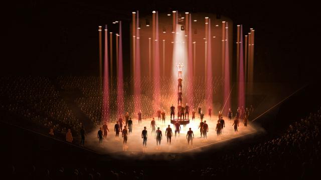 Disfruta de lo mejor del estreno Messi10 by Cirque du Soleil
