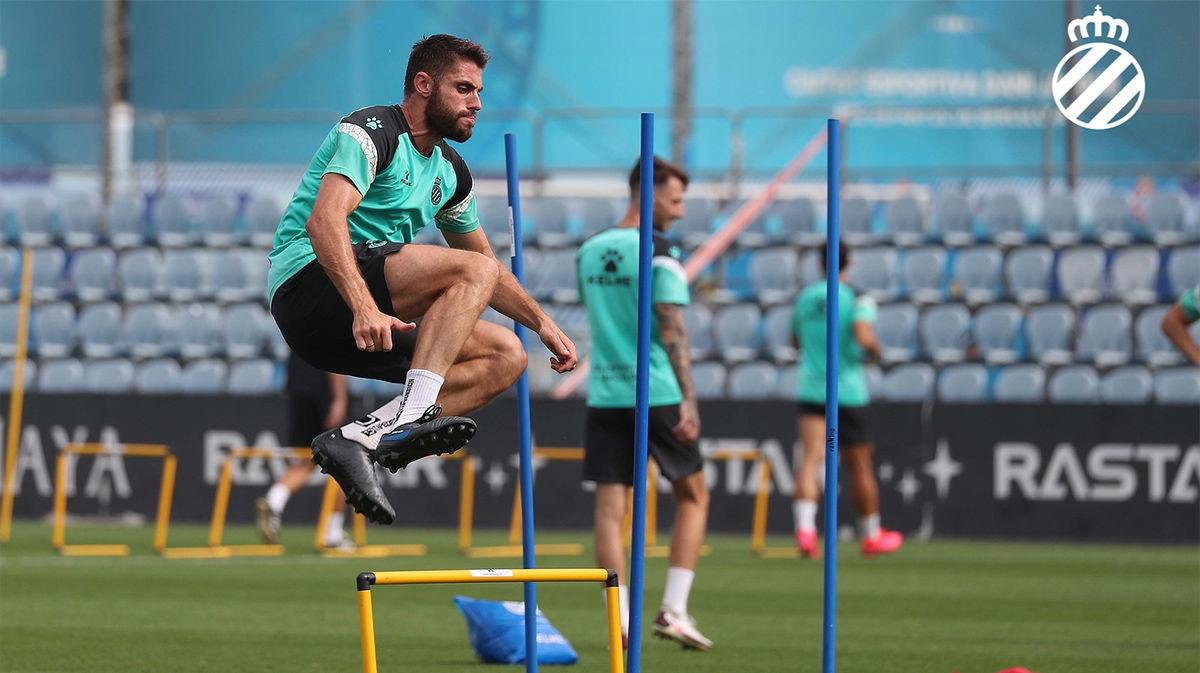 El Espanyol continúa preparando el encuentro ante el Mallorca