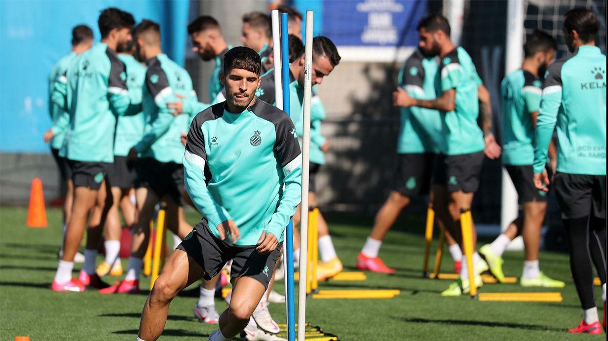 El Espanyol ultima la preparación del partido contra el Oviedo
