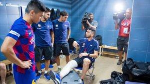 Esquerdinha ya percibió la gravedad de la lesión en el pabellón de Guadalajara