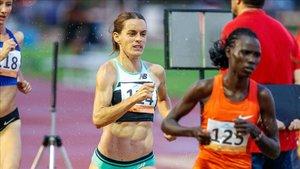 Esther Guerrero estuvo notable en el 1.500