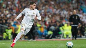 Fede Valverde sustituye a Rodygo en el once del Real Madrid en Granada
