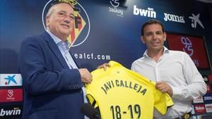Fernando Roig sigue apostando por Javi Calleja