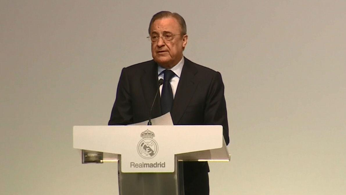 Florentino Pérez: Nuestro modelo sigue siendo un modelo de éxito