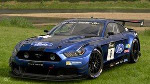 Ford Mustang en Gran Turismo Sport.