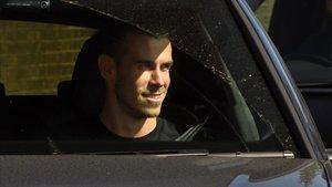 Gareth Bale sonríe con su regreso al Tottenham