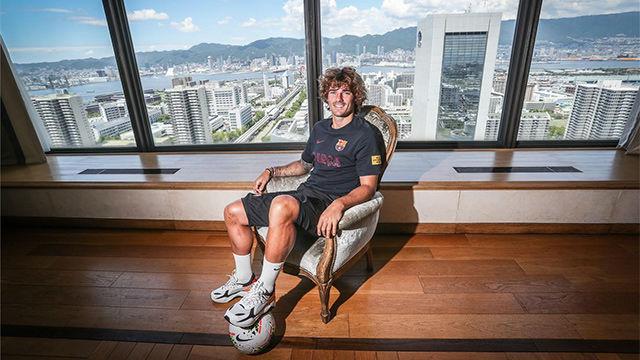 Griezmann: En la cama visualizo cómo jugaré con Messi