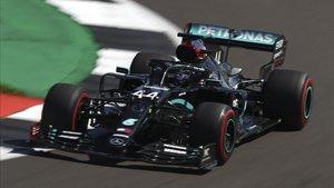 Hamilton, el más rápido en Silverstone