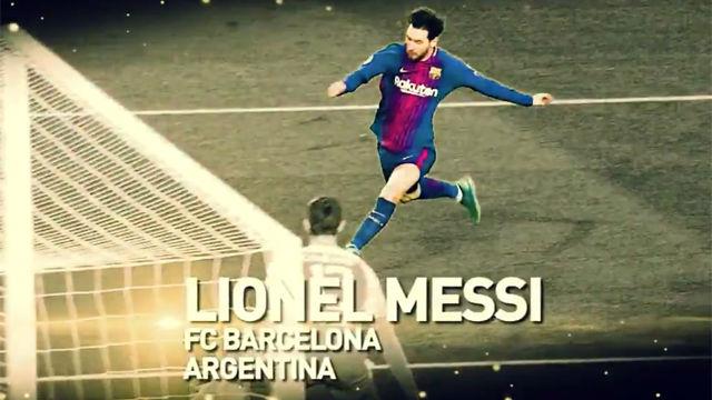 ¡Increíble! Messi queda en la quinta posición en lista del Balón de Oro