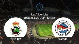 Jornada 6 de la Tercera División: previa del duelo Racing B - Laredo