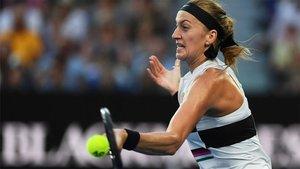 Kvitova ya está en semis del Open de Australia